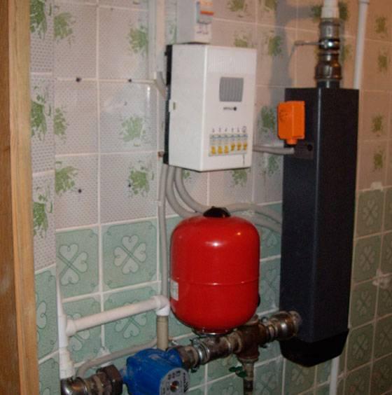 Электрическое отопление на бойлере 26