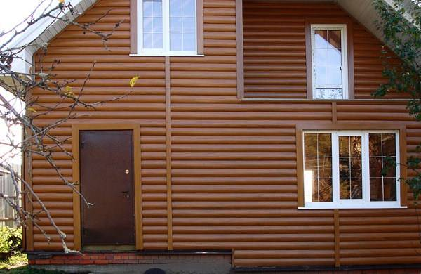 Деревянный дом сайдингом своими руками 858