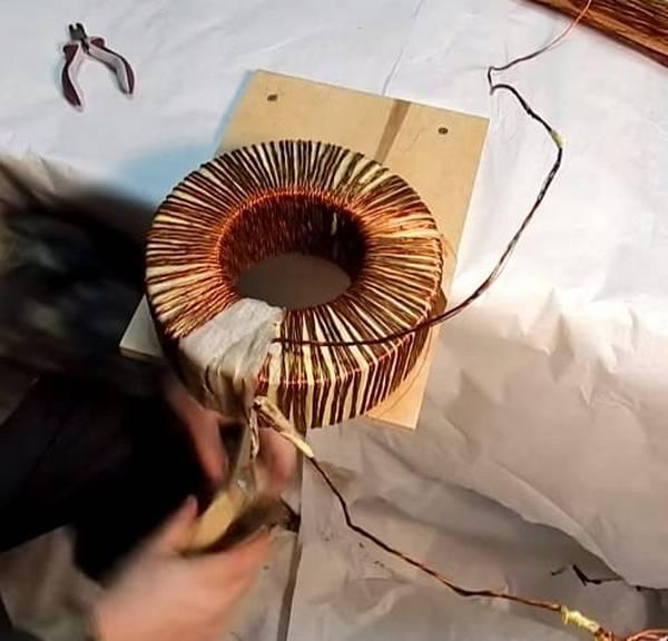 Тороидальный трансформатор намотать своими руками